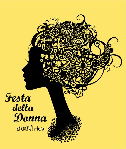 Design for the Festa Della Donna T-shirts