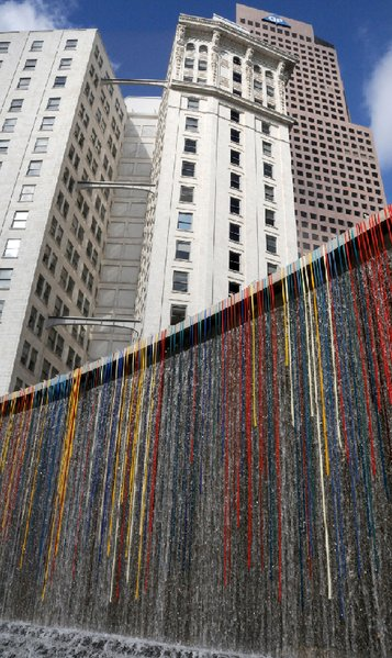 """Color Falls""- a 2012 Walker creation in Atlanta"