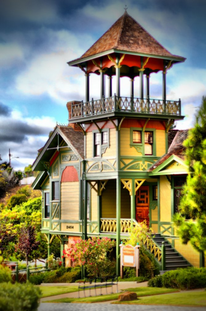 Old Victorian House in Old Town.