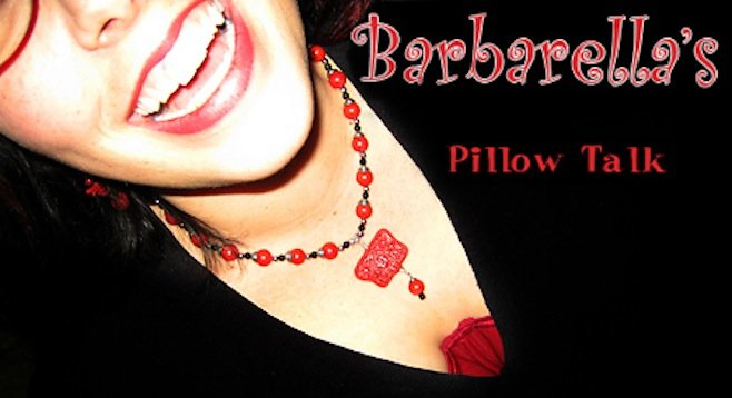Shot from my old blog, Barbarella's Pillow Talk.
