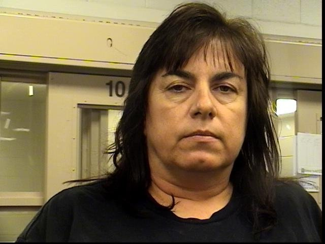 Elizabeth Masters' booking photo from New Mexico.