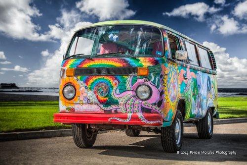 """Bum in the Bus"" - Ocean Beach, CA 92107"