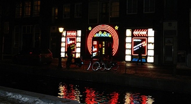 The infamous red light district. Amsterdam's canals turn 400 this year – and the city's throwing a party.