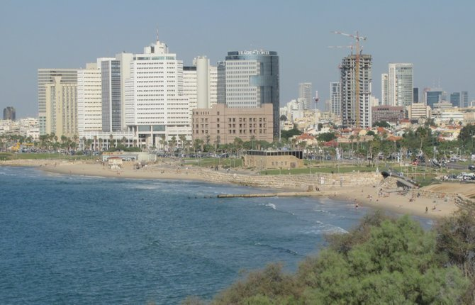 Tel Aviv's waterfront.