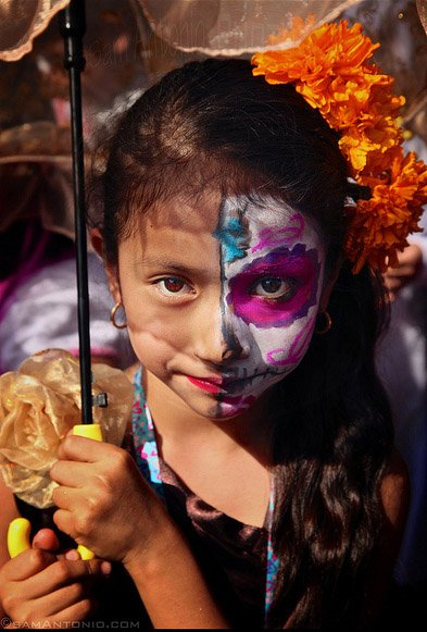 Children's Parade in Oaxaca City