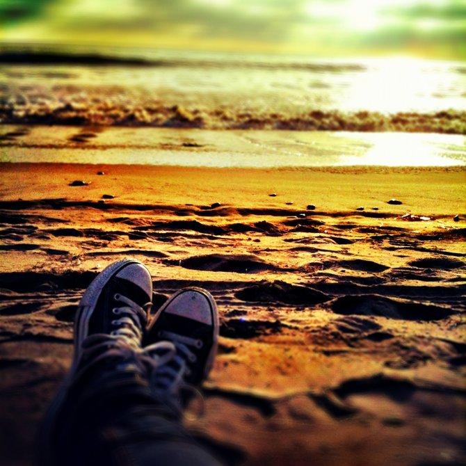 Sunset at Torrey Pines State Beach