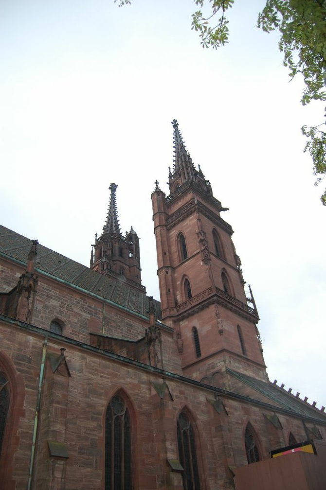 The almost 1,000 year old Münster or church.