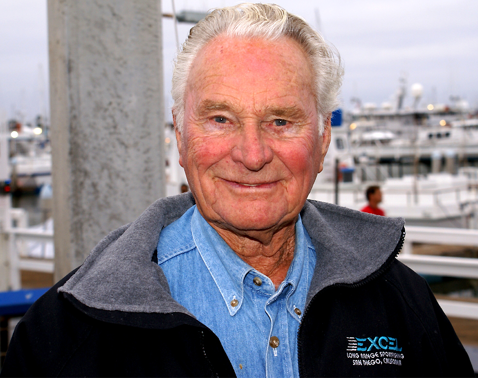 The late Bill Poole at the San Diego Sportfishing docks.