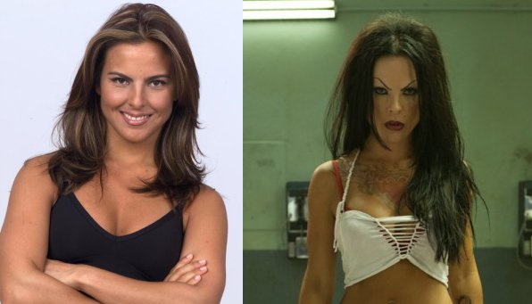 Kate del Castillo before and during.