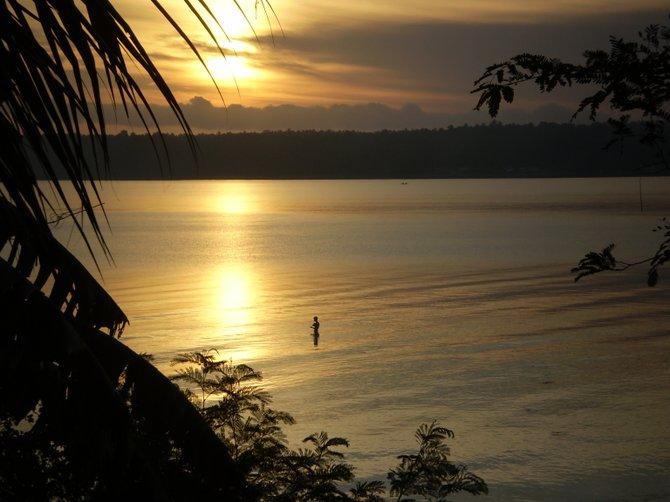 """""""Morning Prayers."""" Masbate, Philippines."""