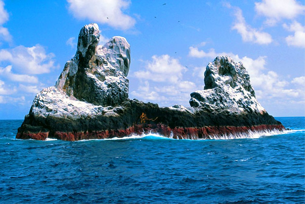 The small and remote outcropping, Roca Partida, is a prime venue for huge yellowfin tuna.