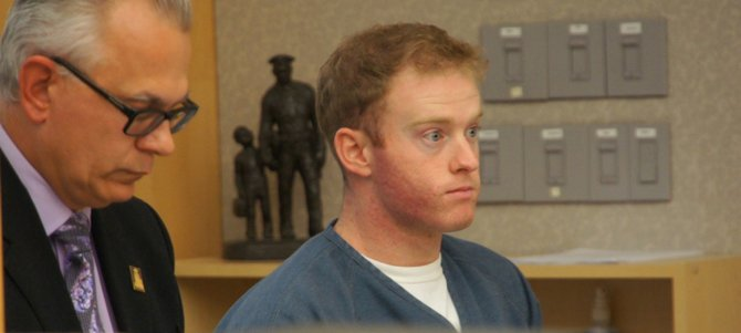 Def atty Pal Lengyel-Leahu and Kevin Coset. Photo Weatherston.
