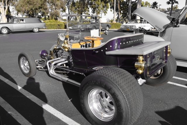 Clairemont: Monthly classic car meet.