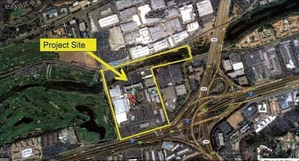 C. Terry Brown site adjacent to Douglas Manchester's U-T San Diego
