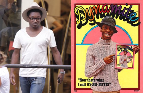 Theo Spielberg takes over for Jimmie 'J.J.' Walker as the DY-NO-MITE Kid.