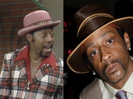 The role of Sweet Daddy Williams (Theodore Wilson on L) will be played by comedian Katt Williams (R), whenever he can clear his most recent charges.