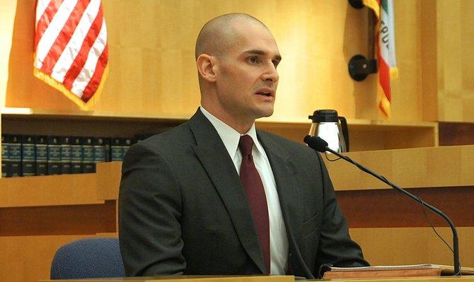 Deputy Medical Examiner, Dr. Craig Nelson.  Photo Weatherston.