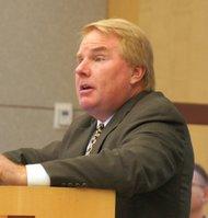 Public defender Jeffrey Reichert. Photo Weatherston.