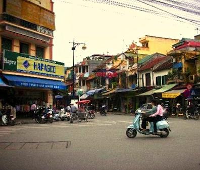 Streets of Hanoi.