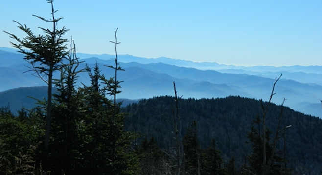 Formed 200-300 million years ago, the Smokies are among the oldest mountains in the world.