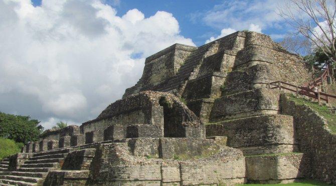 Temple of the Masonry Altars at Altun Ha
