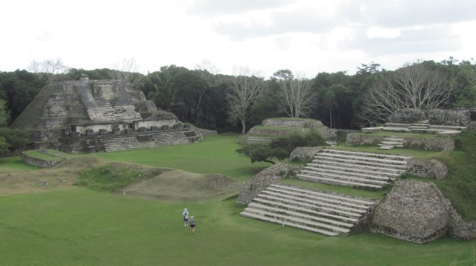 Altun Ha Courtyard