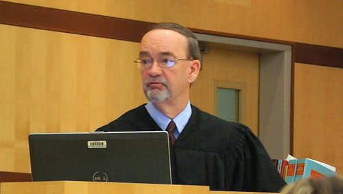 Judge Kirkman ordered the defendants held to answer on March 18, 2013. Photo Weatherston.