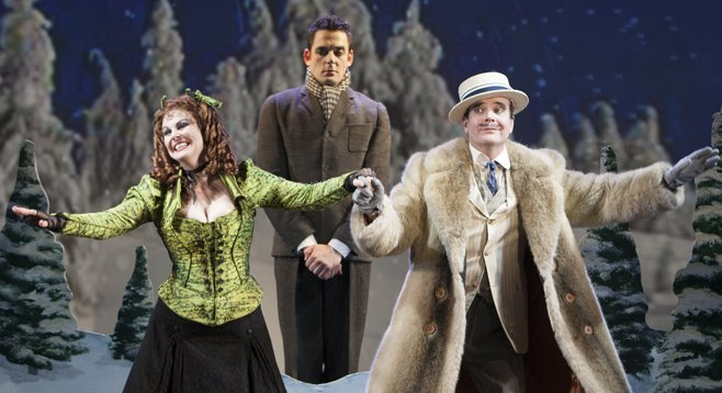 The Old Globe's production of A Gentleman's Guide to Love and Murder is one big show-stopper.