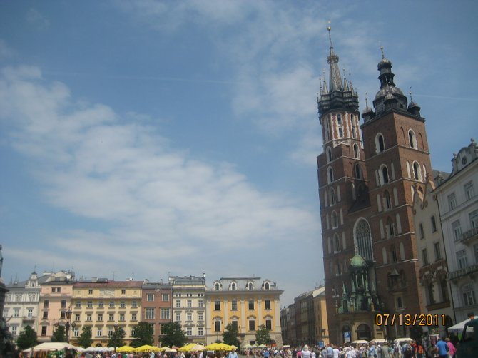 old Krakow - St. Mary's Basilica