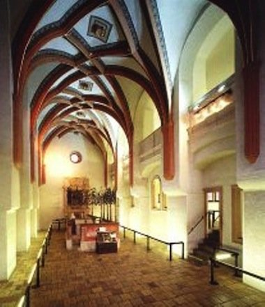 Temple interior.