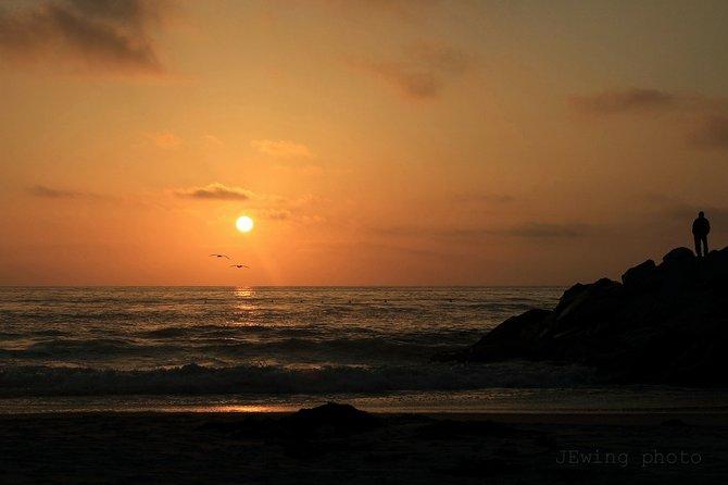 Sunset at South Carlsbad State Beach  Carlsbad
