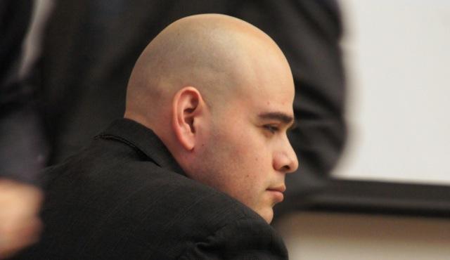 Efrain Cornejo pleaded not guilty.  Photo Weatherston.