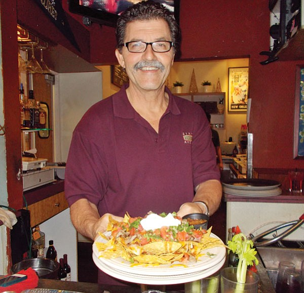 """""""I have the personality of a shovel,"""" says chef and owner Jack Gambrell."""
