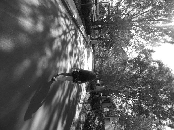 Exploring Torrey Pines.