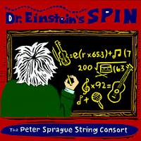 <strong>The Peter Sprague String Consort</strong>: <em>Dr. Einstein's Spin</em>  SBE Records