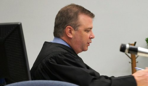 Superior Court Judge Blaine K. Bowman ordered defendant to answer the charges.  Photo Weatherston.