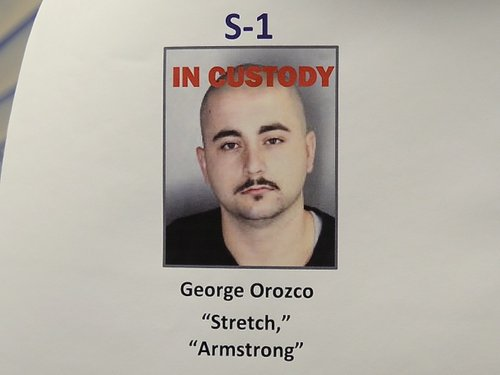 OPD displayed this photo when they announced Orozco's arrest.