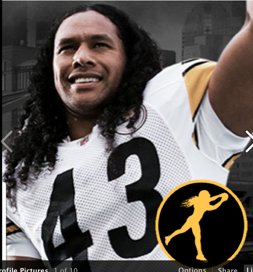 image from Polamalu's Facebook page