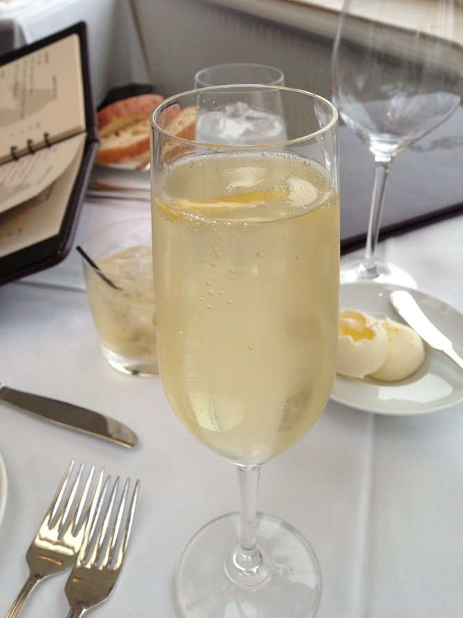My aperitif
