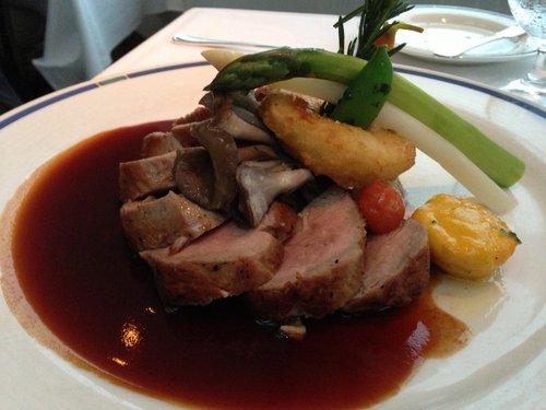 David's veal dish