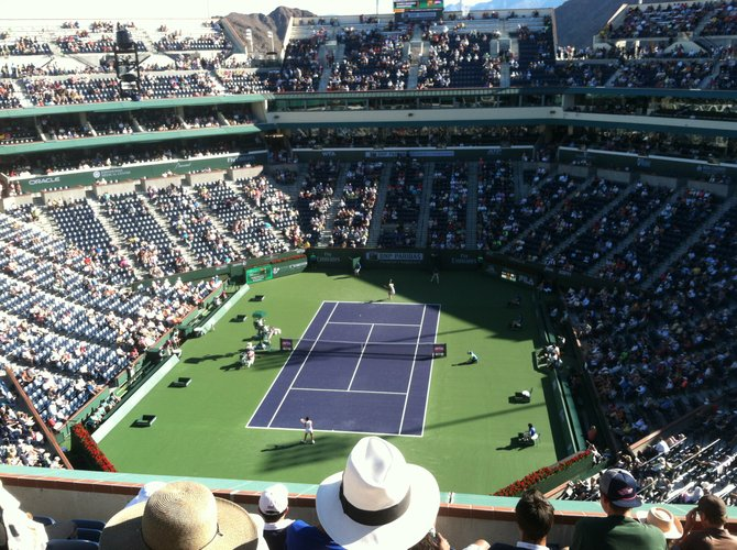 Grandstand Court - Indian Wells Tennis Garden
