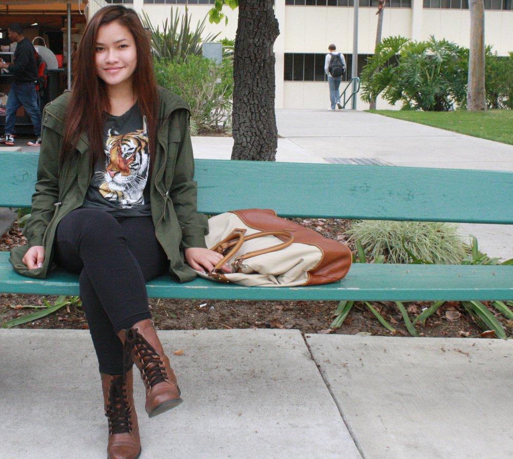 Sarah York, age 20, SDSU student