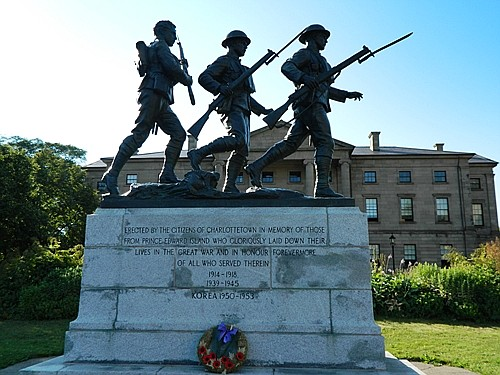 Korean War Memorial in Charlottetown.