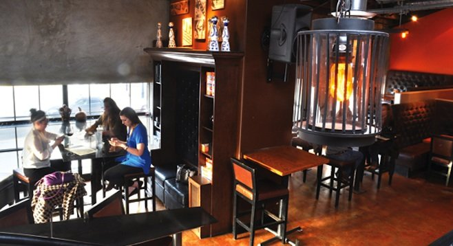There are lots of cozy corners and a pretty cool bar scene at The Corner in East Village