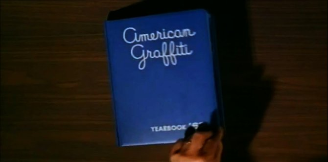 """From the trailer for George Lucas' """"American Graffiti"""" (1973)."""