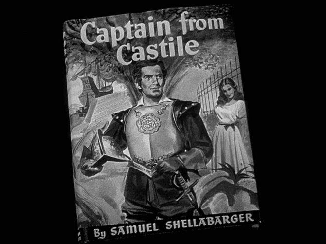 "Henry King's adaptation of Samuel Shellabarger's ""Captain From Castile"" (1944)."