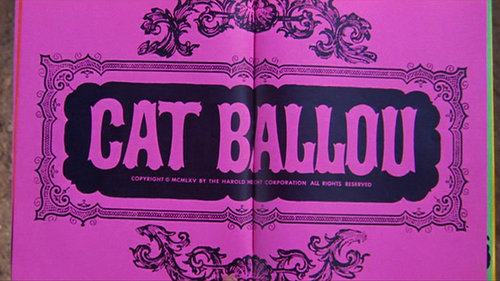 "Elliot Silverstein's adaptation of Roy Chanslor's ""The Ballad of Cat Ballou"" (1965)."