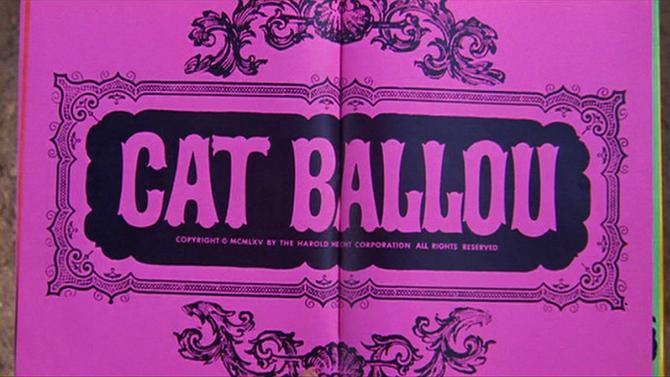 "Elliot Silverstein's adaptation of Roy Chanslor's ""The Ballad of Cat Ballou"" (1965)."