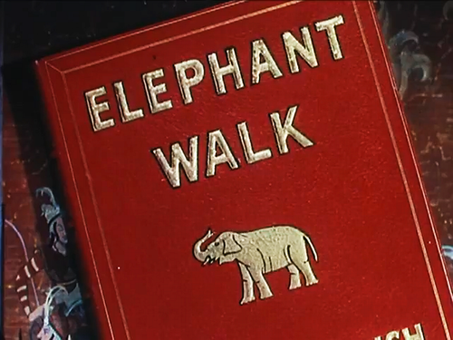 "From the trailer for William Dieterle's filming of Robert Standish's ""Elephant Walk"" (1954)."