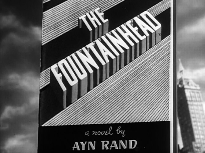 """From King Vidor's improvement on Ayn Rand's """"The Fountainhead"""" (1949)."""